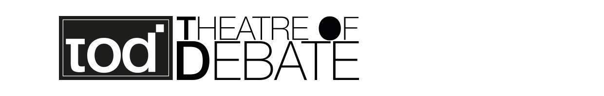 Theatre of debate image logo